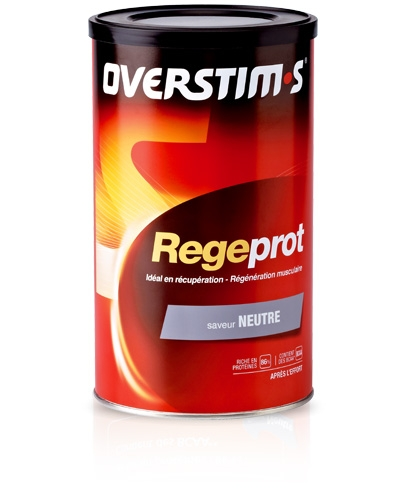 Collation de récupération Overstims Regeprot (Boîte 300 g) - Neutre