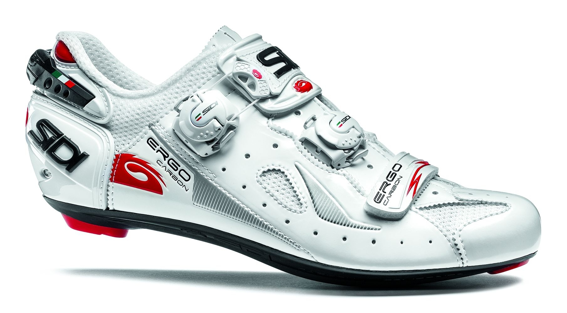 Chaussures Sidi ERGO 4 Carbon Composite Blanc - 41