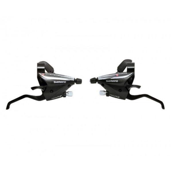 Manettes dérailleur et freins Shimano Altus ST-EF65 3x8V (paire)