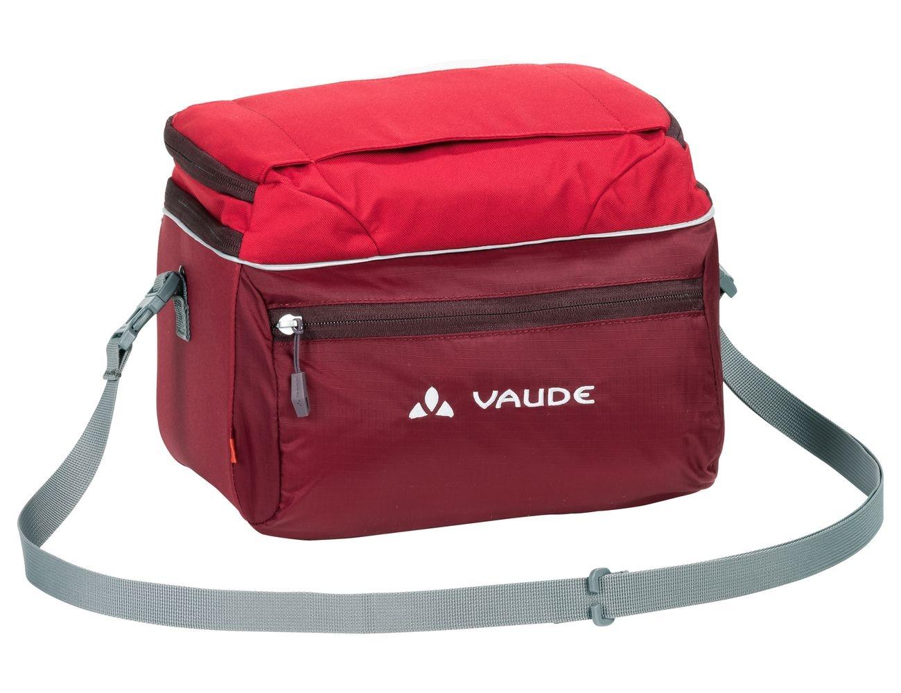Sacoche de guidon Vaude Road II 8 L + support KLICKfix Rouge Salsa