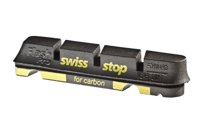 Patins SwissStop FlashPro Carbone (Jeu de 4) Noir