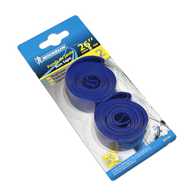 Fonds de jante Michelin haute pression 26 x 20 mm Bleu