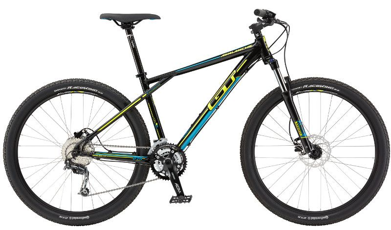 VTT GT Avalanche 27.5 Comp 2015 (Gloss Black) - XS