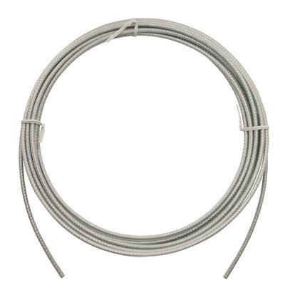 Gaine de frein Ashima ReAction Kevlar Téflon 5 mm Argent (7,5 m)