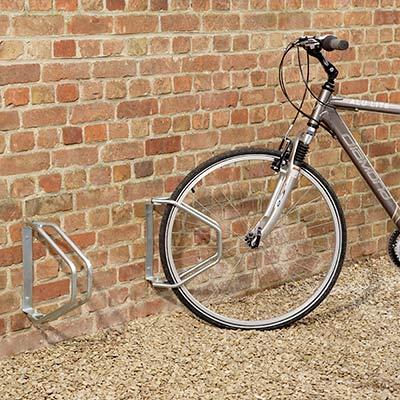 Garage à vélo mural orientable