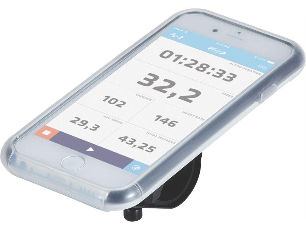 Support BBB + étui Iphone 6 Patron Noir / Gris - BSM-03