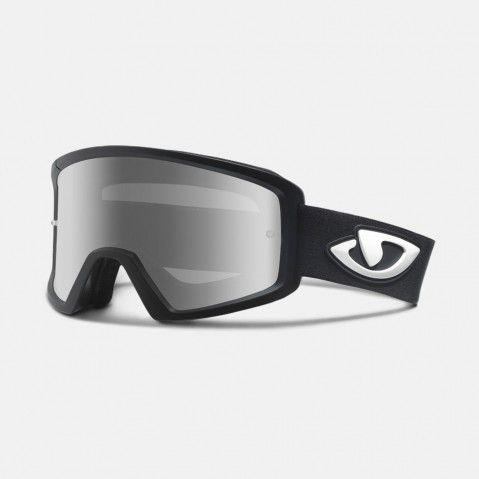 Masque Giro Blok MTB Noir mat/Argent Flash