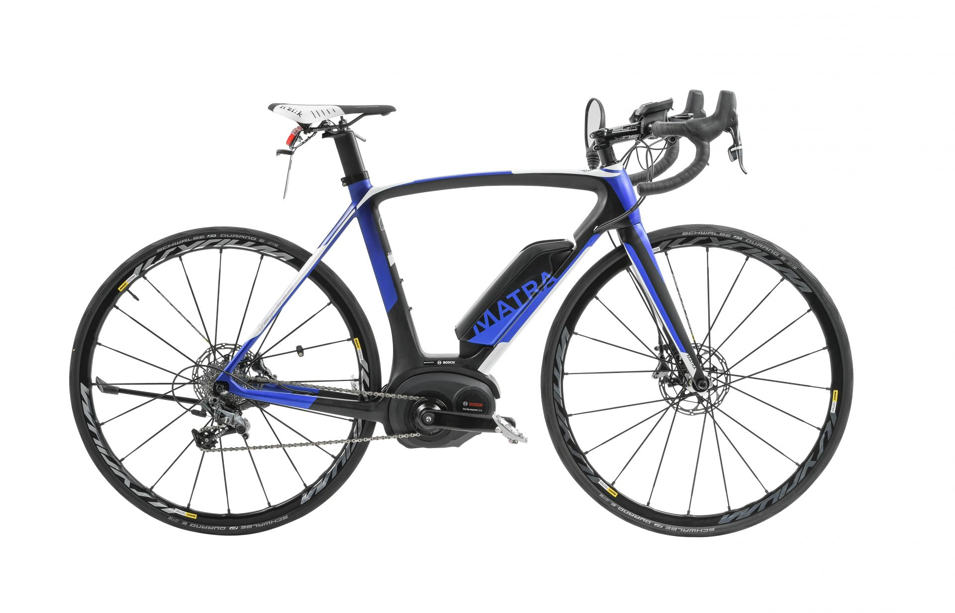 Vélo de route électrique Matra I-Speed Race D11S Bleu - S / 51 cm