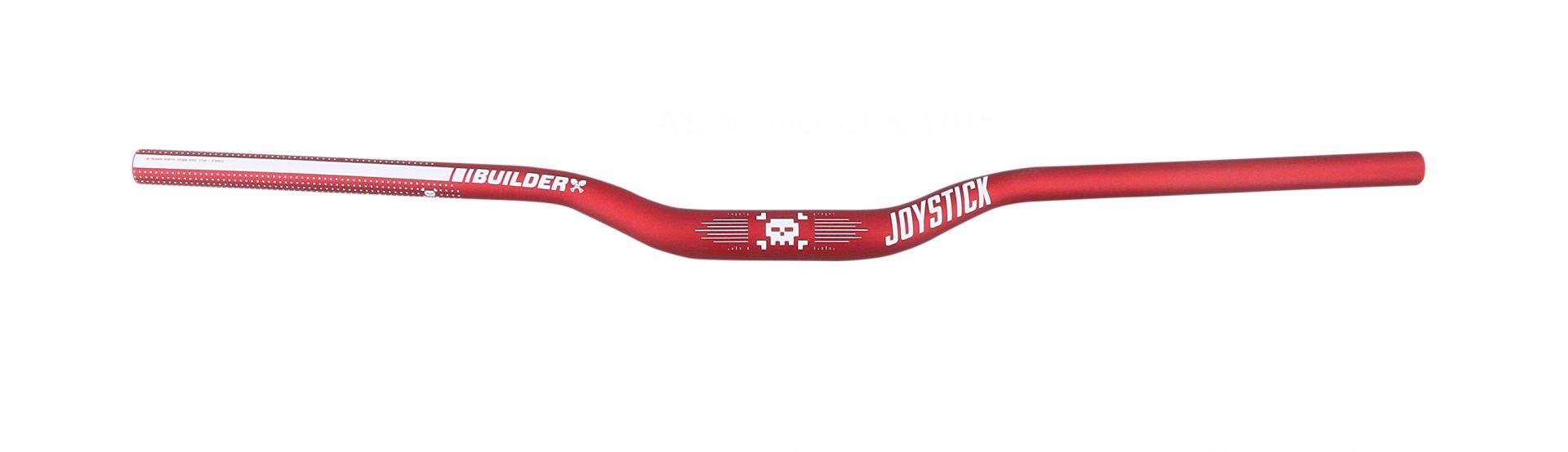 Cintre Joystick Builder 31.8 mm 780 mm Rise 25 mm Rouge