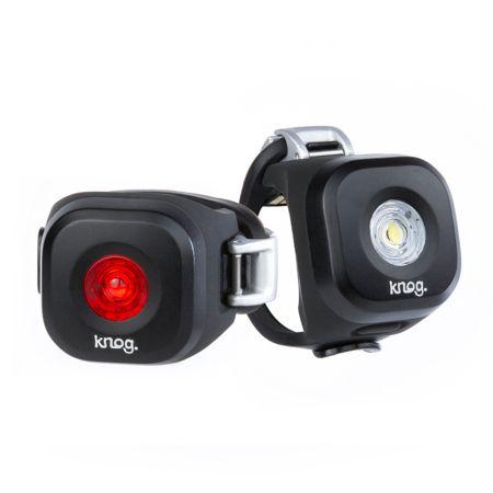 Éclairage AV et AR Blinder Mini Twinpack Dot LED USB Noir