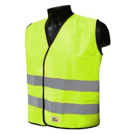 Gilet sécurité enfant L2S Visio Kid Jaune fluorescent - 3XS