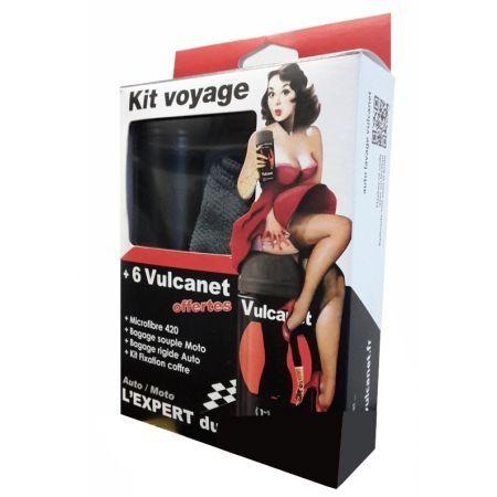 Lingettes Vulcanet de nettoyage Kit Voyage