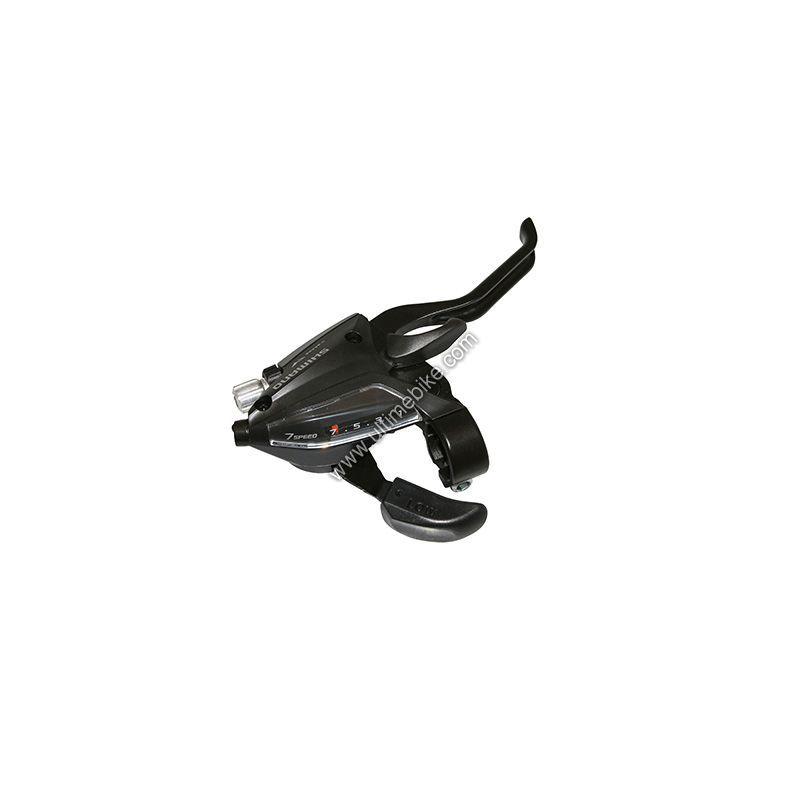 Manette dérailleur et frein Shimano Altus ST-EF500 7V Noir