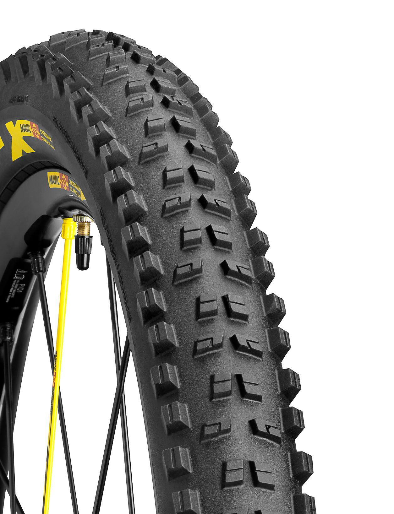 Pneu 27.5 x 2.40 Mavic Crossmax Charge XL LTD (Noir/Jaune/SSC)