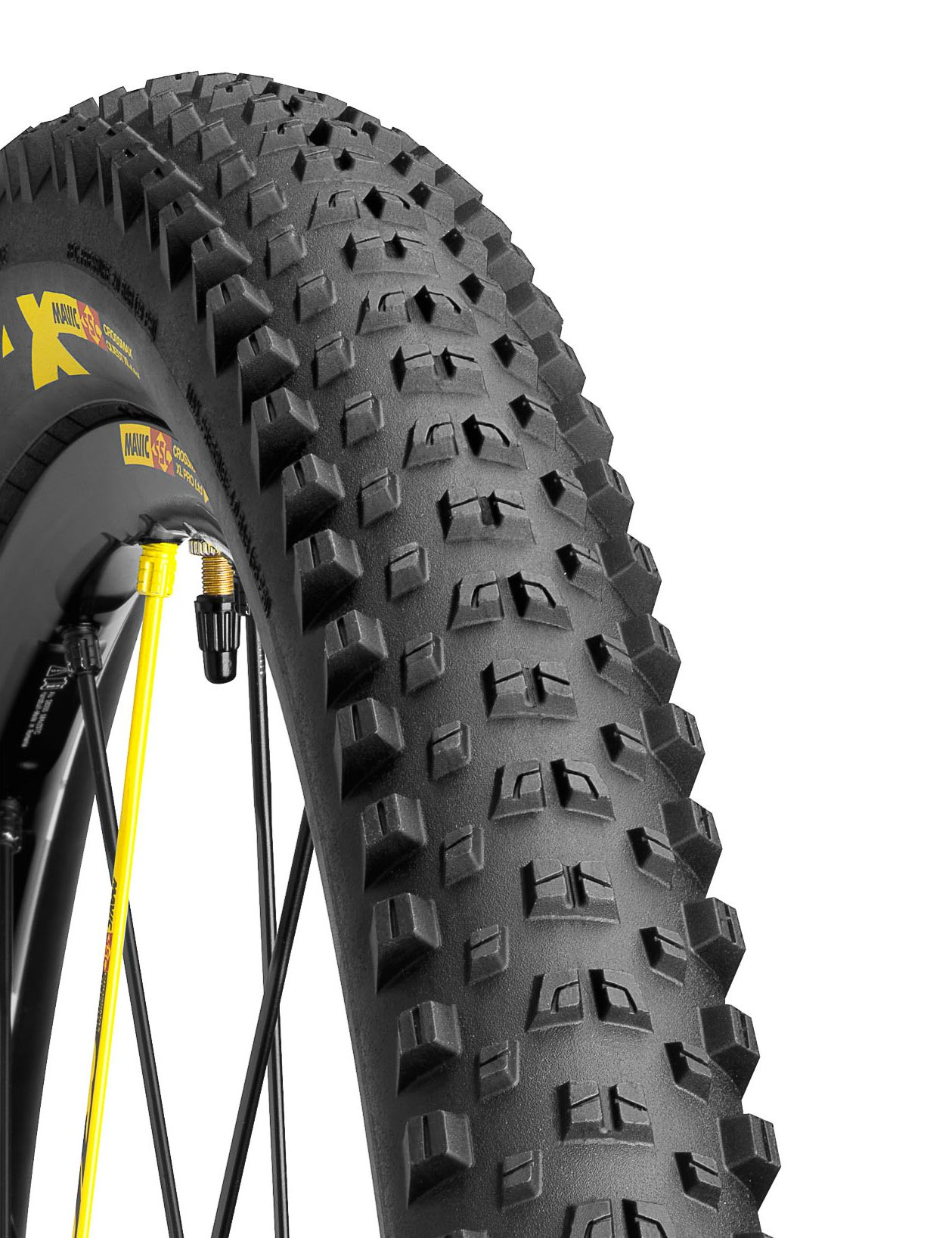Pneu 27.5 x 2.40 Mavic Crossmax Quest XL LTD (Noir/Jaune/SSC)