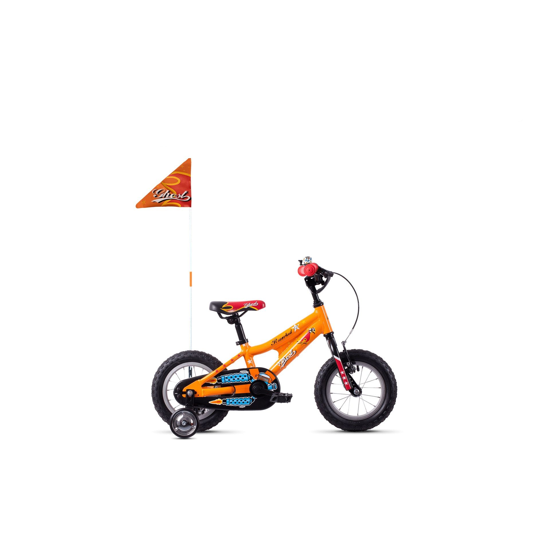 Vélo enfant Ghost Powerkid 12 Orange