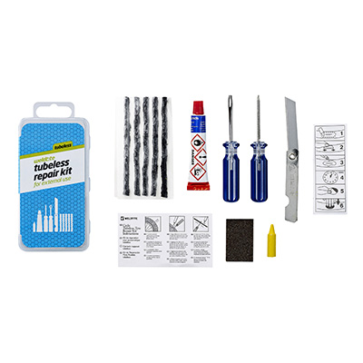 Kit Weldtite mèches réparation pneu tubeless