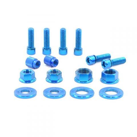 Pack visserie Salt BMX Bleu