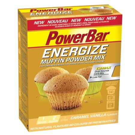 Muffin Energize PowerBar Vanille / Caramel