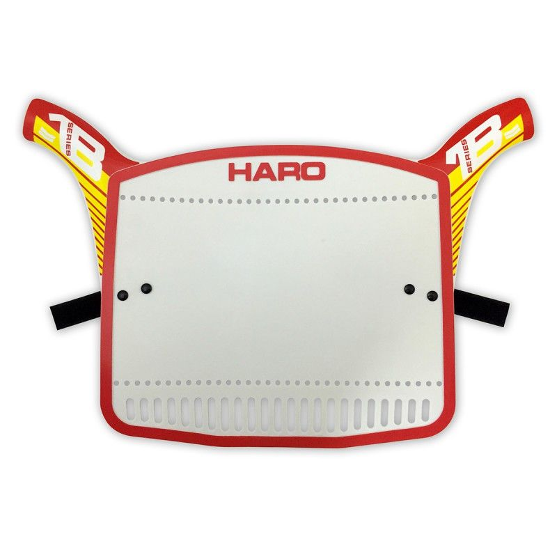 Plaque BMX Haro Replica Serie 1B Red/Yellow