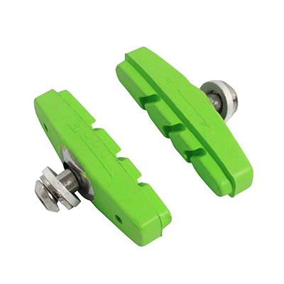 Porte-patins Newton moulés à vis (Paire) Vert