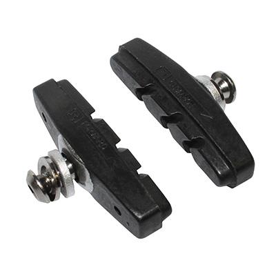 Porte-patins Newton moulés à vis (Paire) Noir