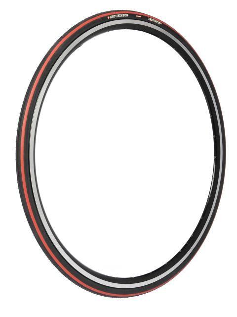 Pneu Hutchinson Equinox 2 700 x 23C TT TR Noir/Rouge
