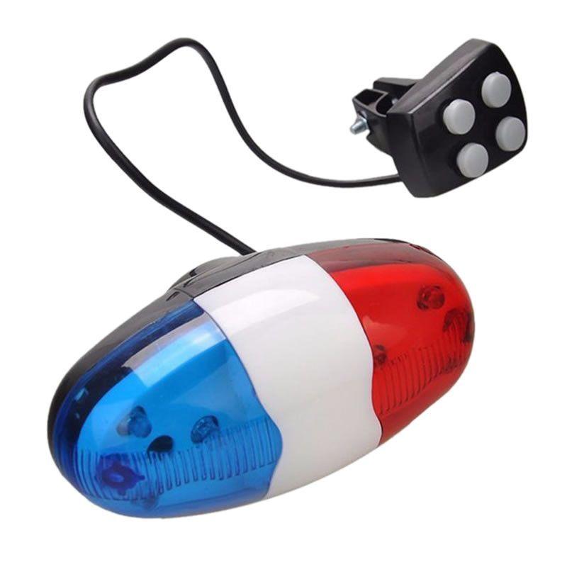 Avertisseur sonore électronique Police Bleu/Blanc/Rouge