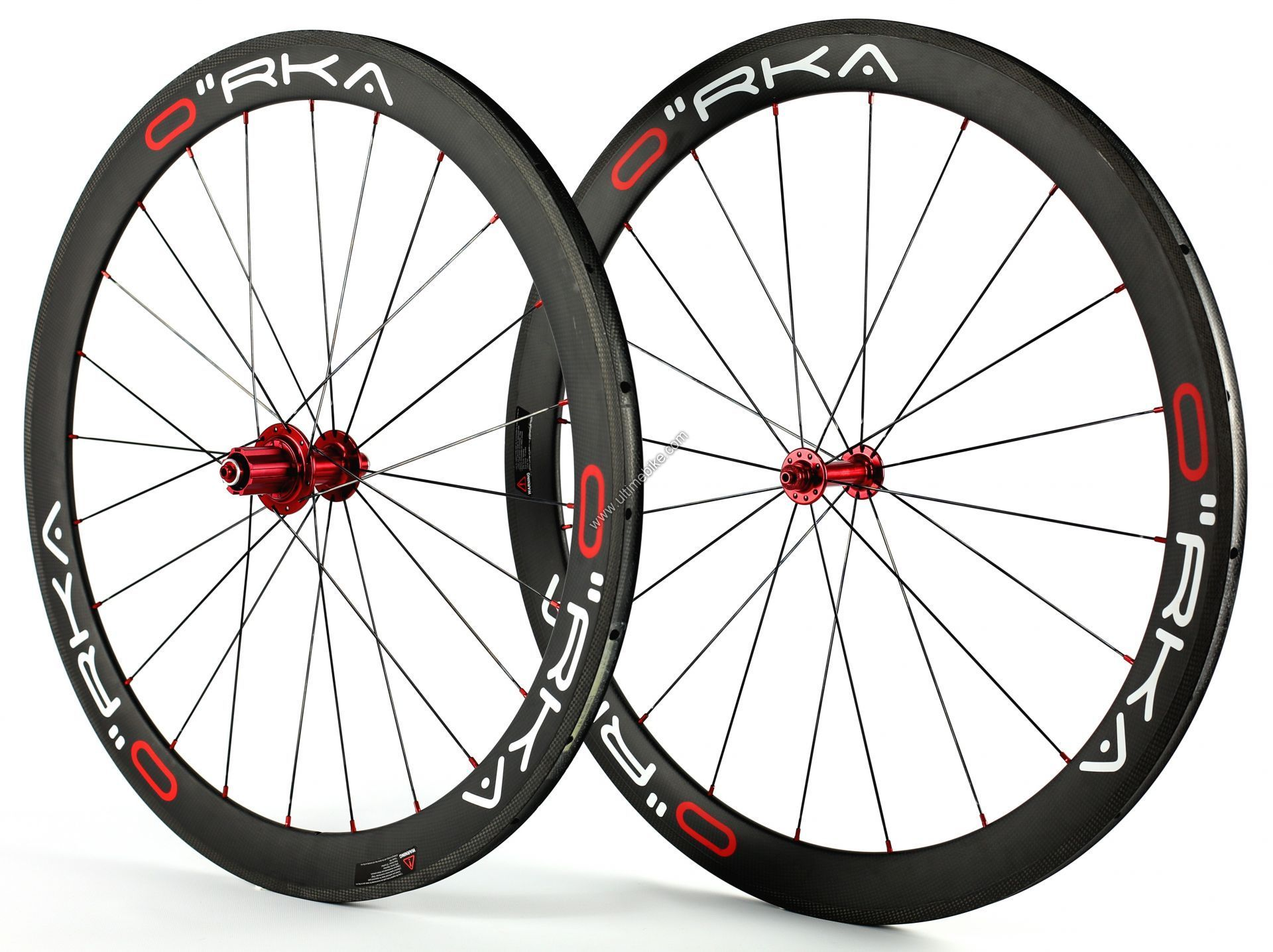 Roue Orka Carbone 50 mm Boyaux corps Campagnolo 10 / 11 v (paire)