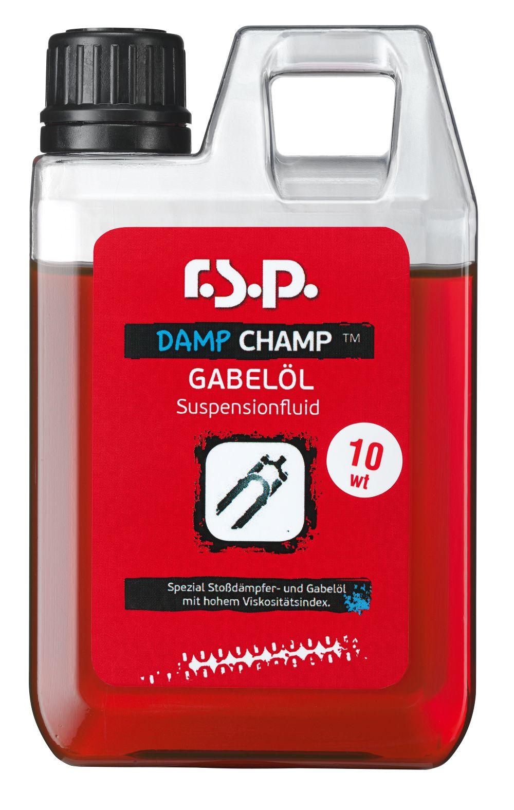 Huile fourche r.s.p. Damp Champ 10wt 1 L