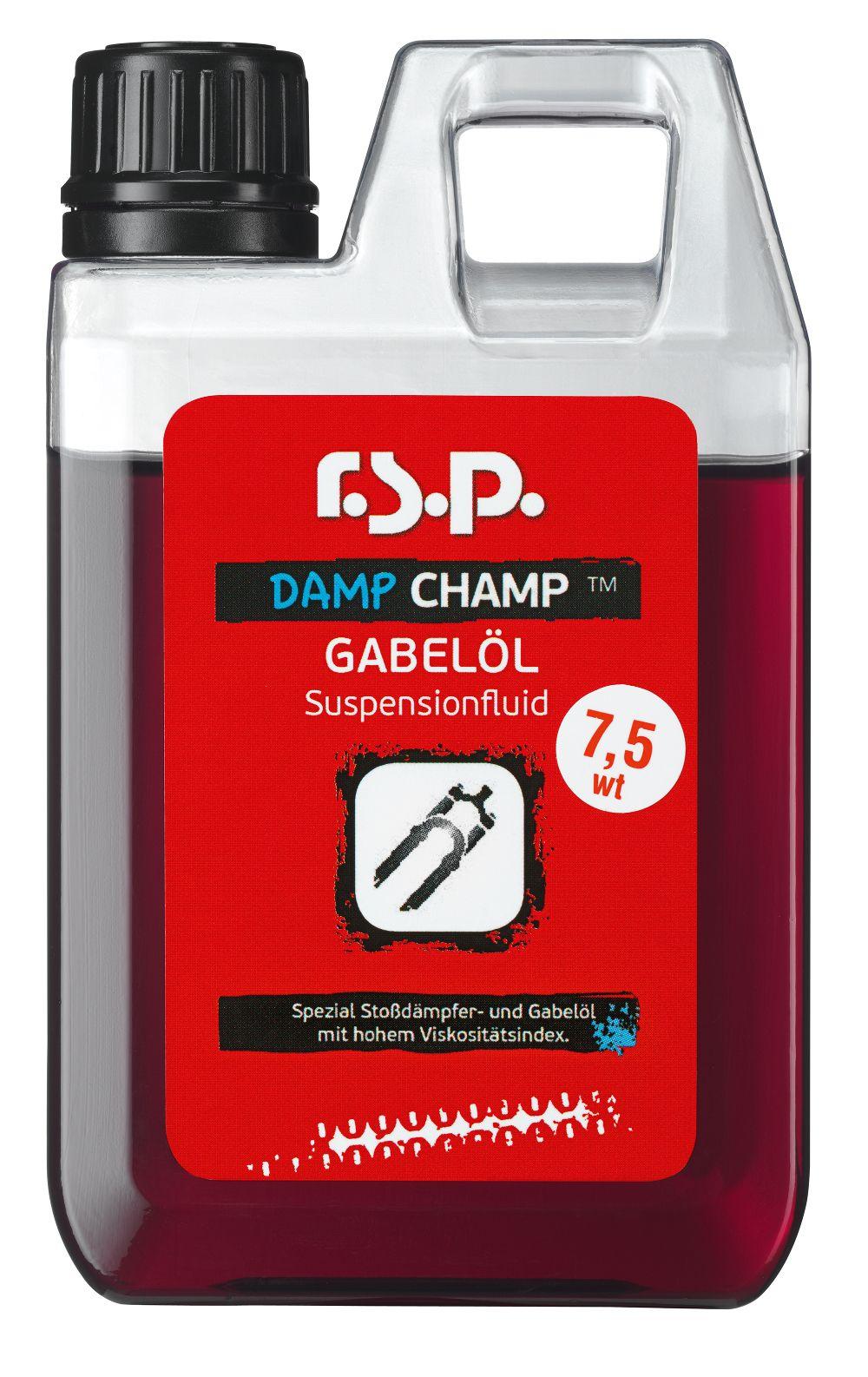Huile fourche r.s.p. Damp Champ 7.5wt 1 L