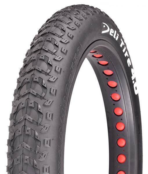 Pneu fatbike Deli Tire 26 x 4.00 SA-280 TR Noir