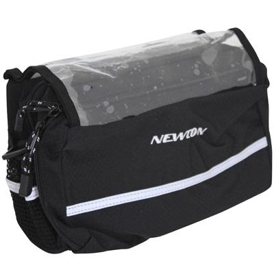 Sacoche de cintre Newton avec fixation clipsable 25,8-31,8 mm Noir