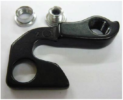 Patte de dérailleur GT K33177 Aluminium Noir