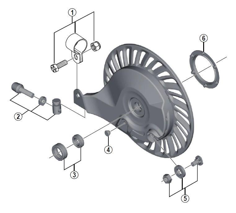 Tendeur de câble Shimano BR-IM81-F
