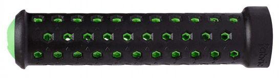 Poignées Fabric Slim lock-on Grips Noir/Vert