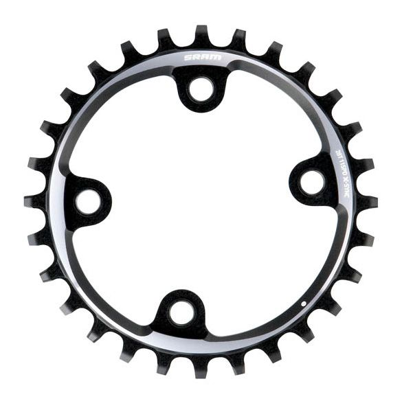 Plateau SRAM Truvativ XX1 11 vitesses 28 dents gris