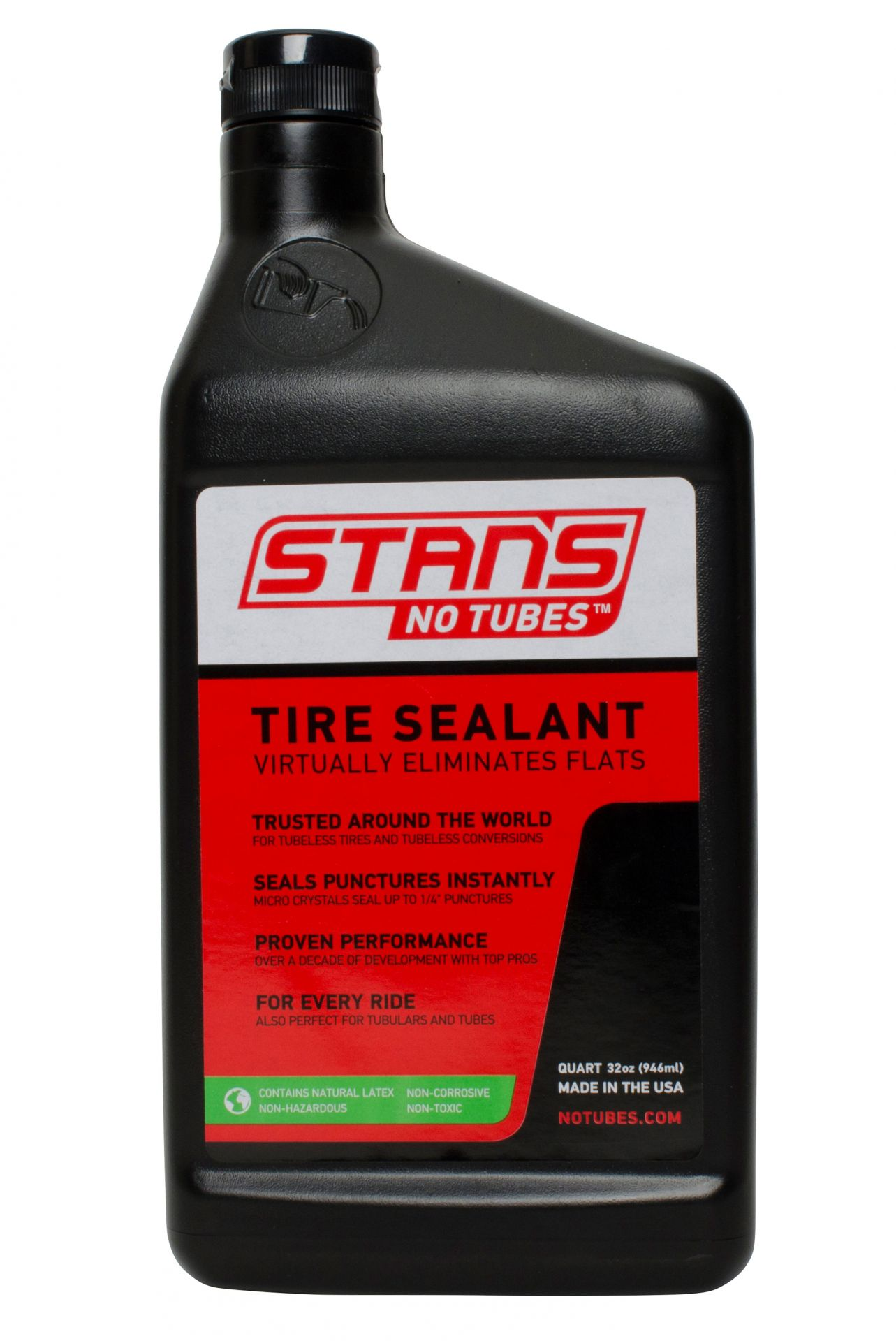 Liquide anti crevaison Stan's NoTubes The Solution 946 ml