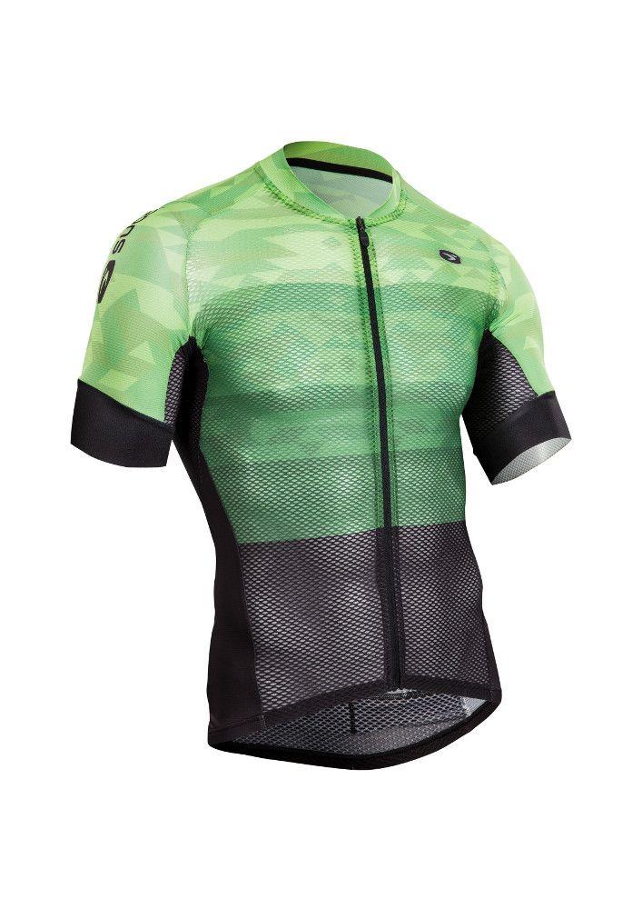 Maillot Sugoi RS Climber Vert Berzerker/Noir - S