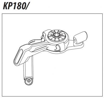 Commande au guidon Cannondale Dyad KP180/