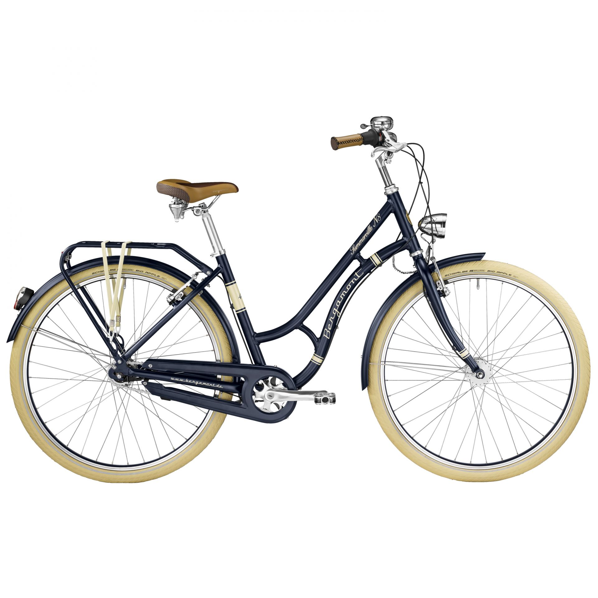 Vélo urbain Bergamont Summerville N8 FH Bleu - 48 cm