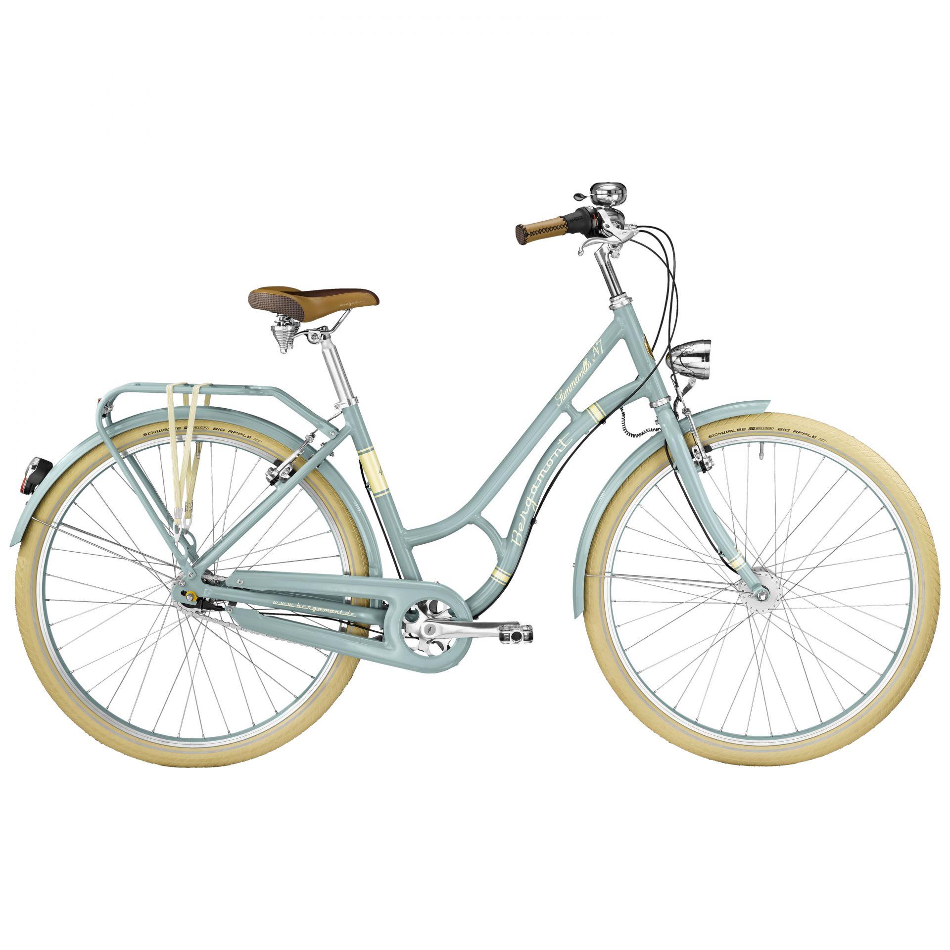 Vélo urbain Bergamont Summerville N7 CB Bleu polaire - 48 cm