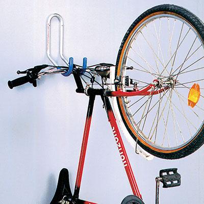 Crochet de rangement mural 1 vélo par le guidon