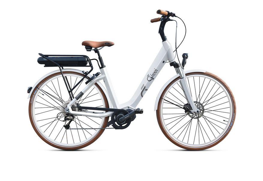 Vélo électrique O2Feel Swan Deore 9V / 26 pouces Blanc