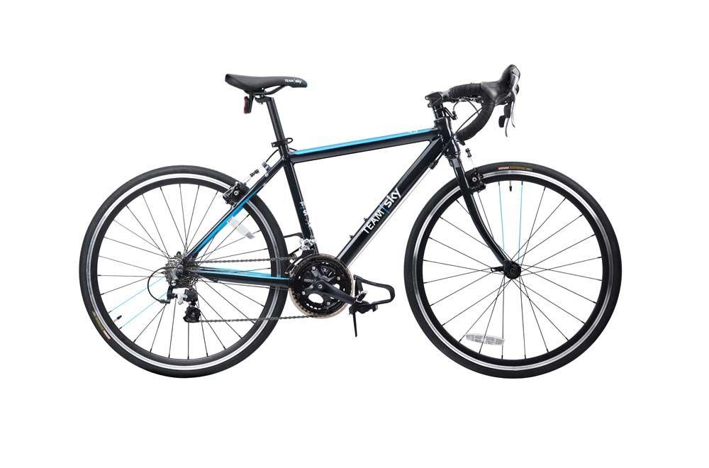 Vélo route enfant Frog Bikes Road 70 Noir/Bleu Team Sky