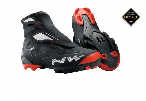 Chaussures hiver Northwave Celsius 2 GTX Noir/Rouge - 42