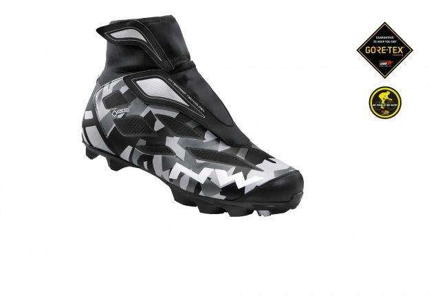 Chaussures hiver Northwave Celsius 2 GTX Camo réfléchissant/Noir - 43