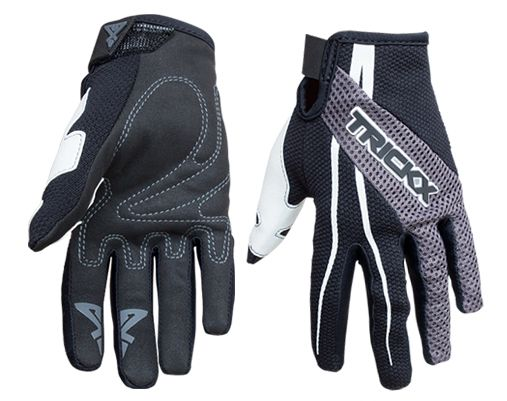 Gants longs TrickX Spike Kids Noir/Gris - XS