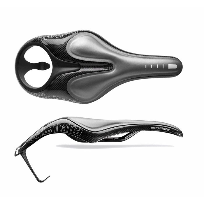 Selle triathlon/TT Selle Italia Optima Teknologica full carbone