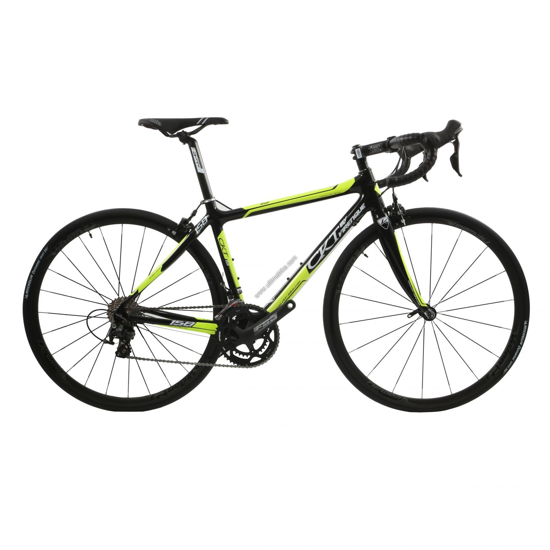 Vélo de route CKT by Virenque 158 carbone Shimano 105 - M / 49 cm